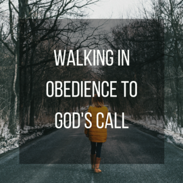 YIELDING TO THE CALL