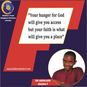 YOUR ROD;KEY TO GREATER WORKS